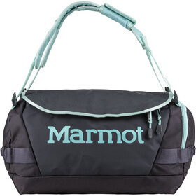 Marmot Long Hauler Duffel Bag Pequeño, dark charcoal/blue tint
